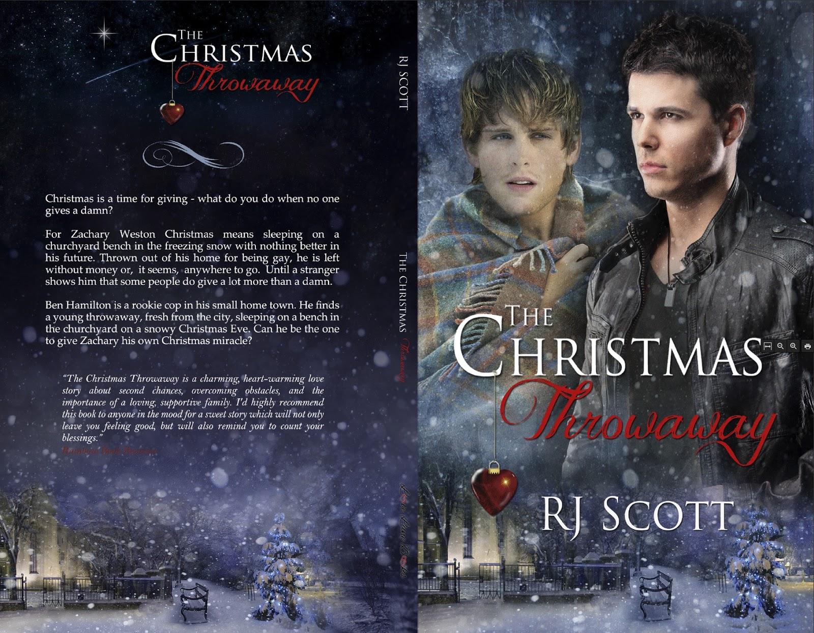 RJ Scott, The Christmas Throwaway, MM Romance, Gay Romance