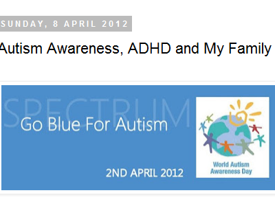 Chris Quinton – ADHD and her family