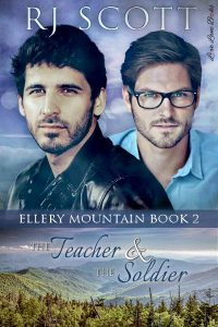 Soldier Teacher Ellery Mountain MM Romance RJ Scott