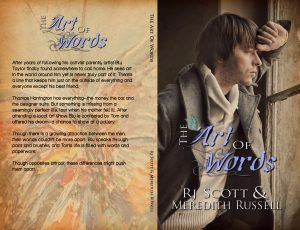 The Art Of Words, RJ Scott, Meredith Russell, Gay Romance, MM Romance