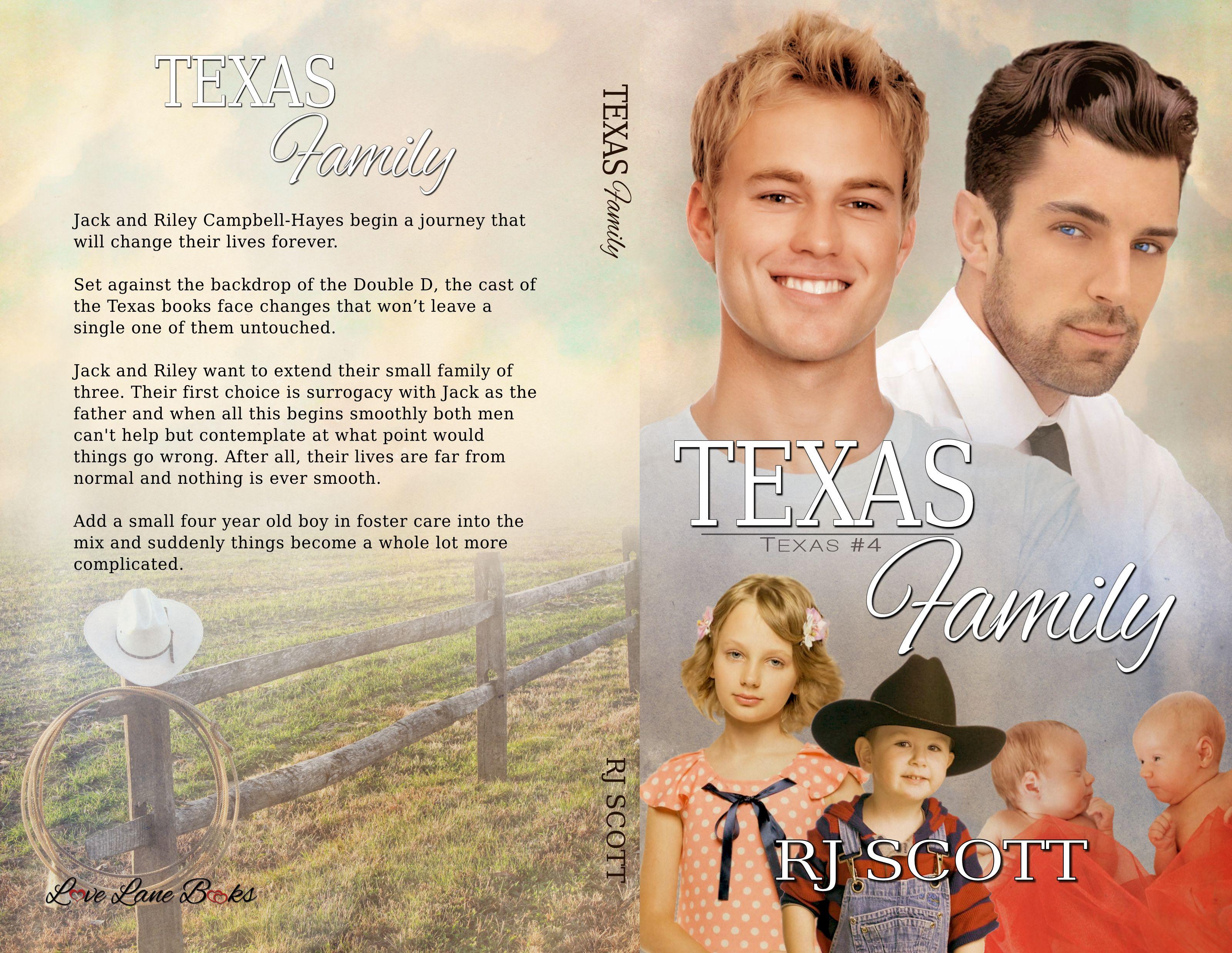 Texas Family, Texas Series, RJ Scott, MM Romance