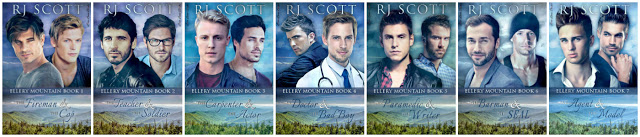 Ellery Mountain, RJ Scott, MM Romance