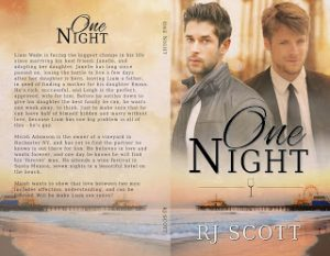 One Night, RJ Scott, Gay Romance, MM Romance