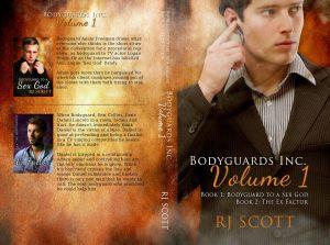 Bodyguards Vol 1, RJ Scott, MM romance, Gay Romance, Action Adventure