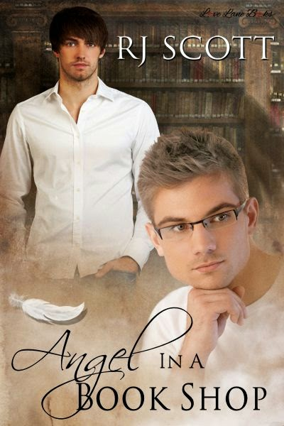 Angel in a Book Shop MM Romance RJ Scott