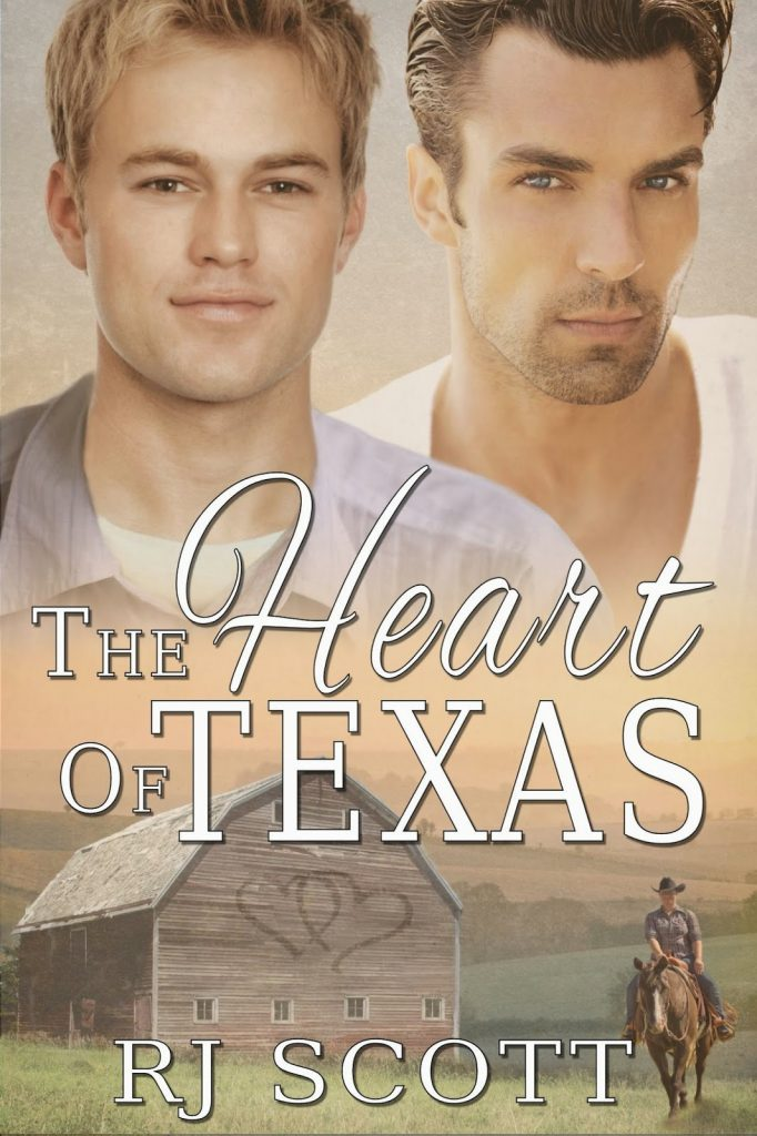 The Heart of Texas MM Romance RJ Scott Cowboys Ranches