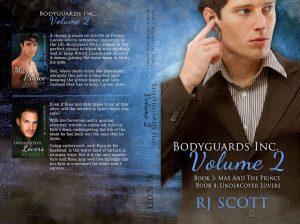Bodyguards Volume 2, RJ Scott, MM Romance, Gay Romance, Action Adventure