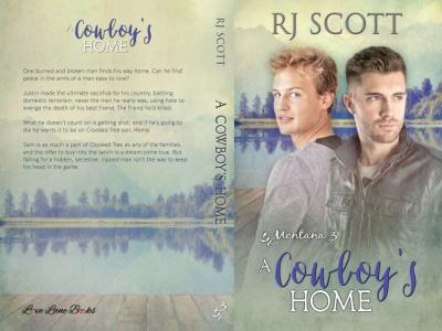 A Cowboys Home Montana RJ Scott MM Romance Gay Romance Crooked Tree Ranch