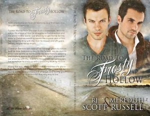 The Road to Frosty Hollow, RJ Scott, MM Romance, Meredith Russell, Gay Romance