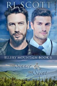 Ellery Mountain, MM Romance, RJ Scott, Gay Romance, The Sinner and the Saint