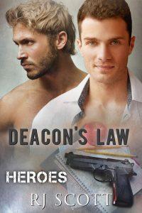 Deacons Law RJ Scott Heroes MM Romance Gay