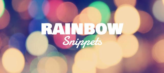 Rainbow Snippets RJ SCOTT MM Romance