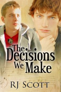 Young Adult Gay Romance RJ SCOTT MM Romance Author fan fiction Love Simon The Decisions We Make