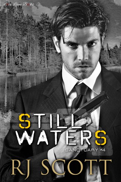 Sanctuary Still Waters MM romance Action Adventure RJ Scott