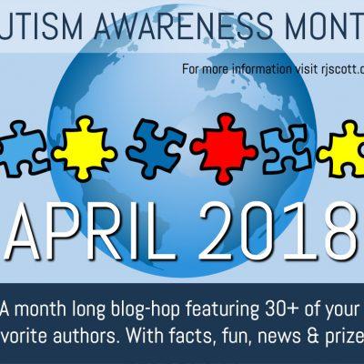 RJ Scott, MM Romance, Autism Awareness