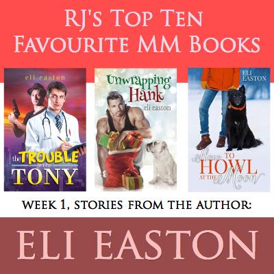Top Ten MM Romance RJ Scott Eli Easton