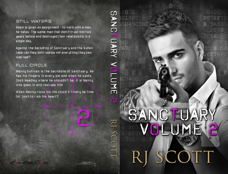 Sanctuary Series, RJ Scott, Action Adventure, Gay Romance, MM Romance, RJ Scott