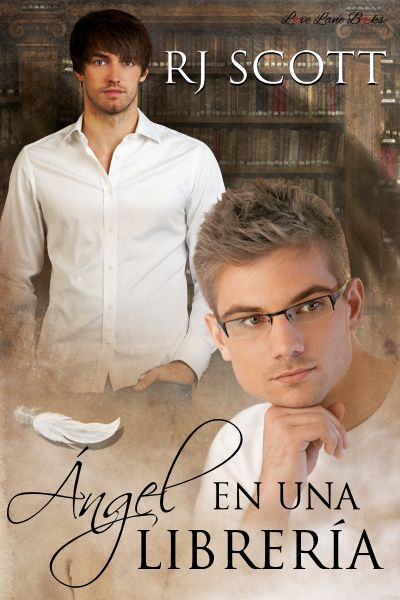 Ángel en una librería MM Romance Spanish Translation