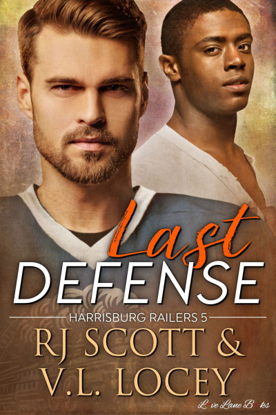 last defense Hockey Romance Gay Romance RJ Scott VL Locey