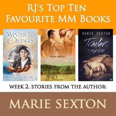 Marie Sexton MM Romance Author RJ Scott
