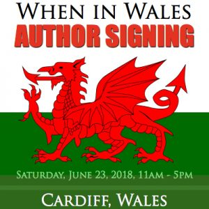 When In Wales Author Signing Event RJ SCOTT