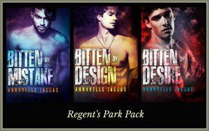 Regent's Park Pack, Annabelle Jacobs, RJ Scott, Feature Friday, Gay Romance, MM Romance, Paranormal Romance