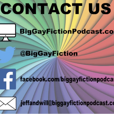 Poke Check – RJ & VL at the Big Gay Fiction Podcast