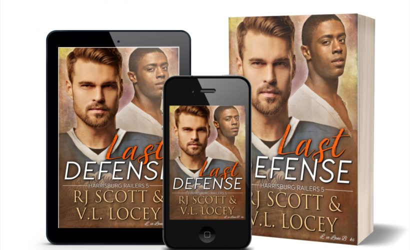 Last Defense, RJ Scott, V.L. Locey, Hockey Romance, MM Romance