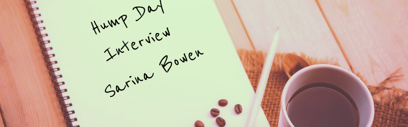 Hump Day Interview, Sarina Bowen, Sports Romance