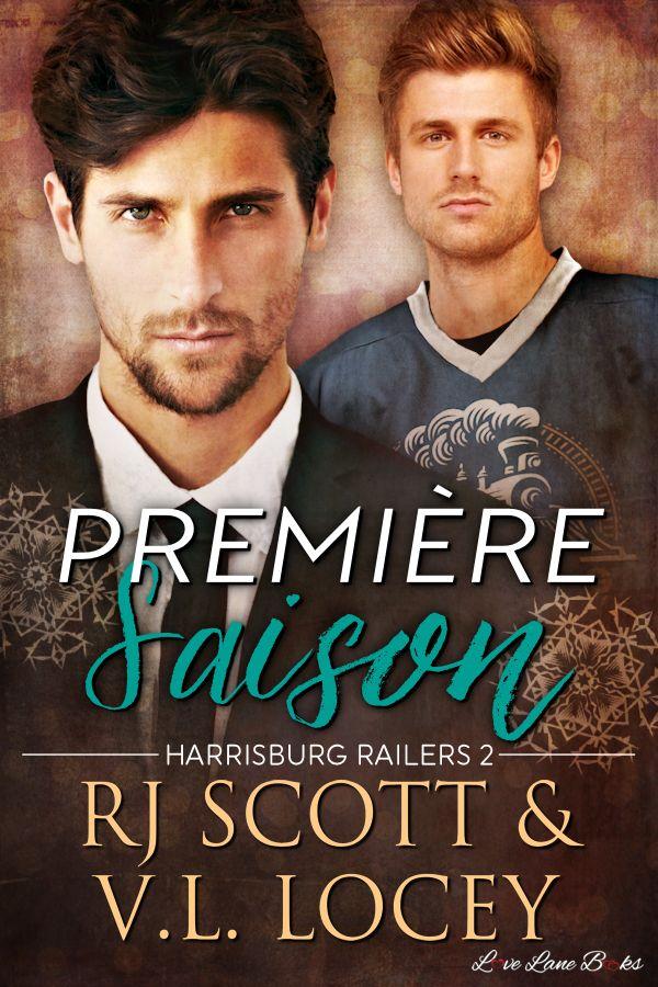 First Season, Harrisburg Railers, MM Romance, Hockey Romance
