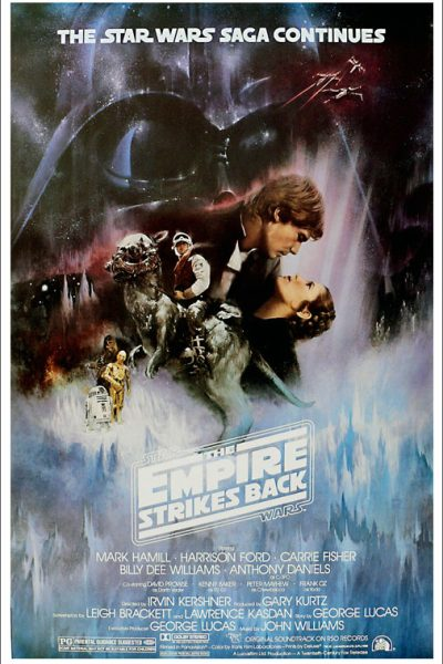 Review from RJ Scott MM Romance Author Star wars The Empire Strikes Back 1980s movies