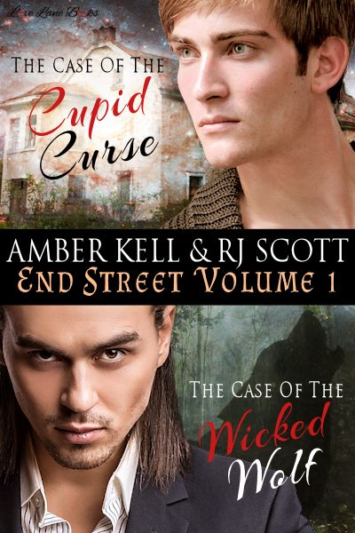 End Street Detective Agency Volume One RJ Scott MM Romance Author Amber Kell