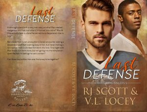 Last Defense, RJ Scott, V.L. Locey, Hockey Romance, MM Romance