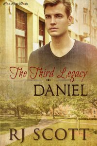 Legacy Daniel MM Romance Author RJ Scott Gay Romance Texas Series