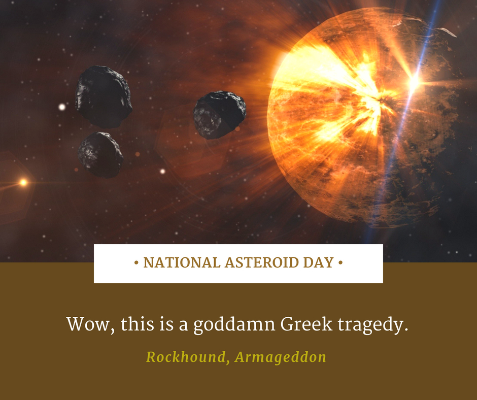 National Asteroid Day RJ Scott MM Romance Author Gay Romance Author