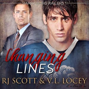 Changing Lines, Audio Book, RJ Scott, V.L. Locey, Harrisburg Railers