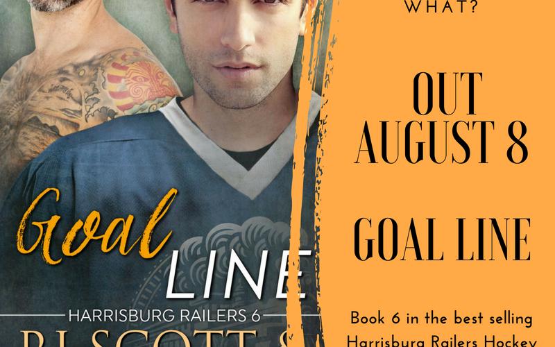 Goal Line, RJ Scott, V.L. Locey, Harrisburg Railers, Hockey Romance