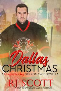 Dallas Christmas Gay MM Hockey Romance from RJ Scott USA Today Bestselling Author