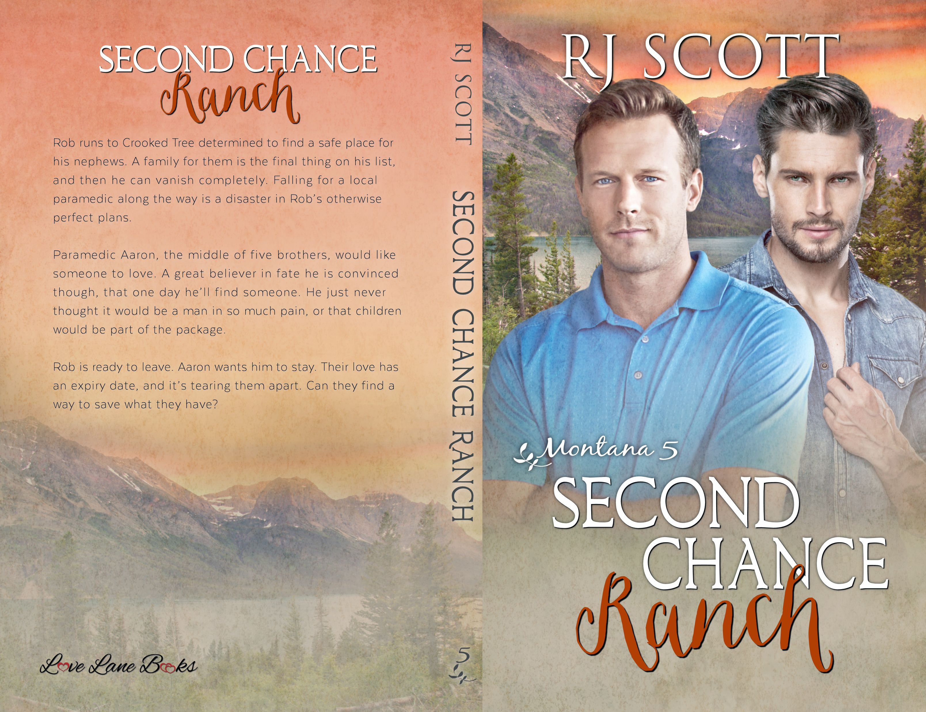 Second Chance Ranch RJ Scott MM romance author gay romance cowboys ranches