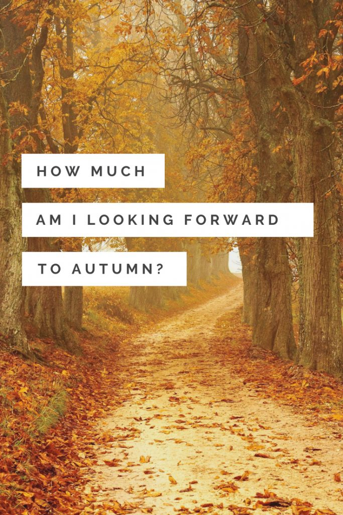 how much am i looking forward to Autumn? RJ Scott MM Romance Author