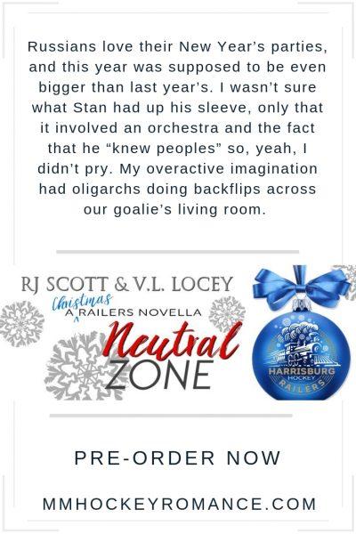 RJ Scott ,VL Locey, Hockey Romance, Gay Romance