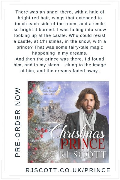 Christmas Prince - a gay mm romance from RJ Scott