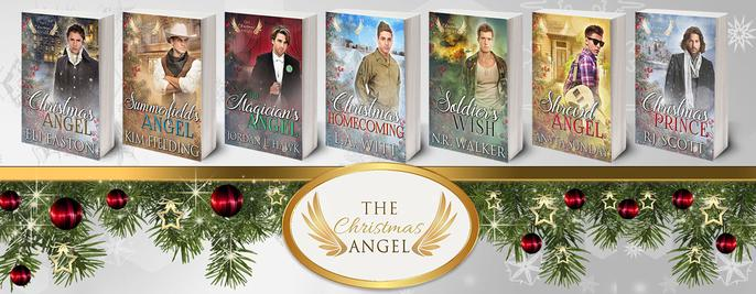 The Christmas Angel Series - MM Romance, RJ Scott Gay MM Romance Author, Christmas Prince