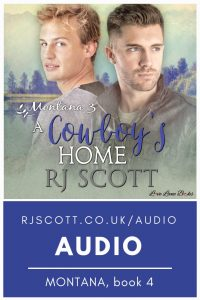 The Montana Series in Audio books from RJ Scott - MM Romance Author