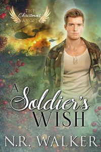 A Soldier's Wish, N.R. Walker, Gay Romance, RJ Scott