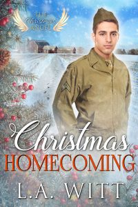 Christmas Homecoming, L.A. Witt, Gay Romance, RJ Scott