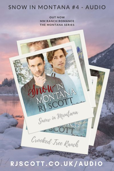 snow in montana audio RJ Scott USA Today bestselling Gay MM Romance Author