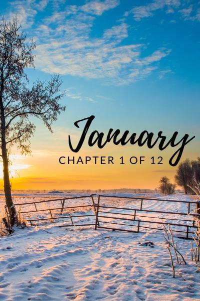 january, chapter one of twelve, RJ Scott MM Romance Author