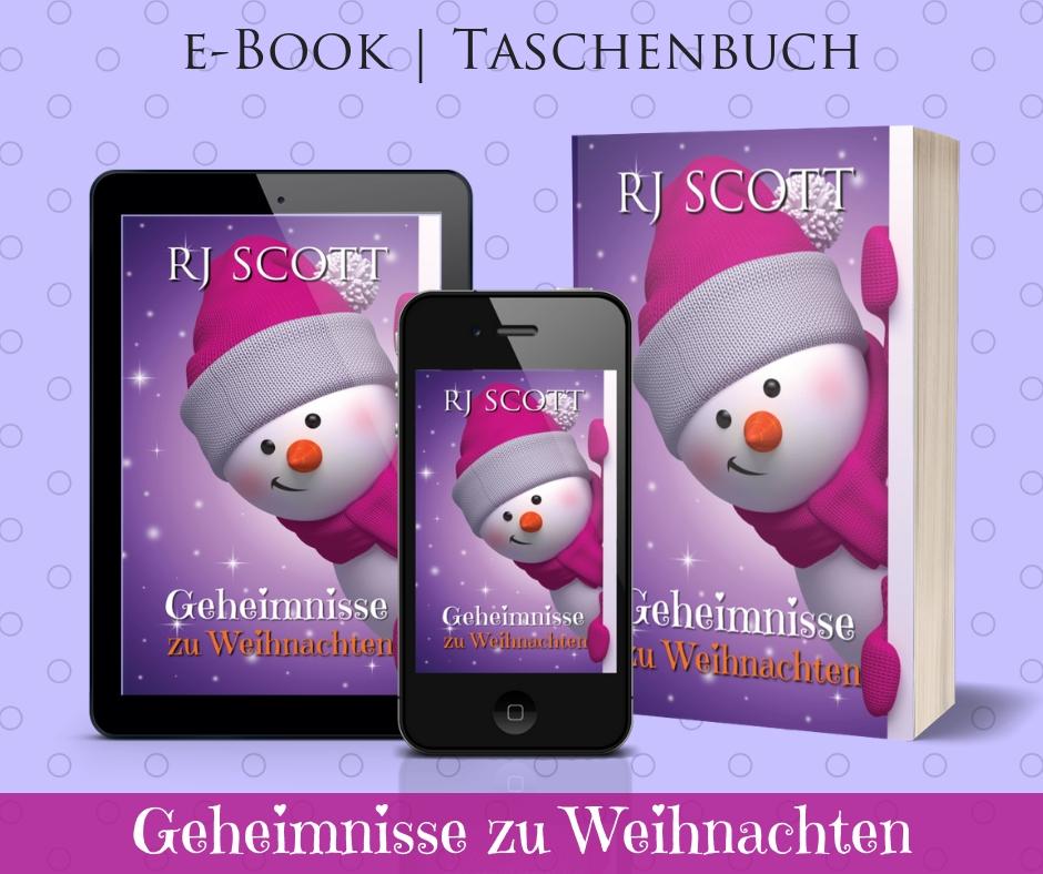 Geheimnisse zu Weihnachten RJ Scott MM Romance USA Today bestselling author