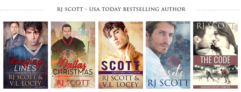 MM & MF Hockey Romance from RJ Scott USA Today Bestselling Author